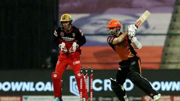 Live Score Sunrisers Hyderabad vs Royal Challengers