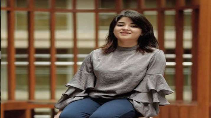 Take down my pictures from your social media accounts, Zaira Wasim request fans