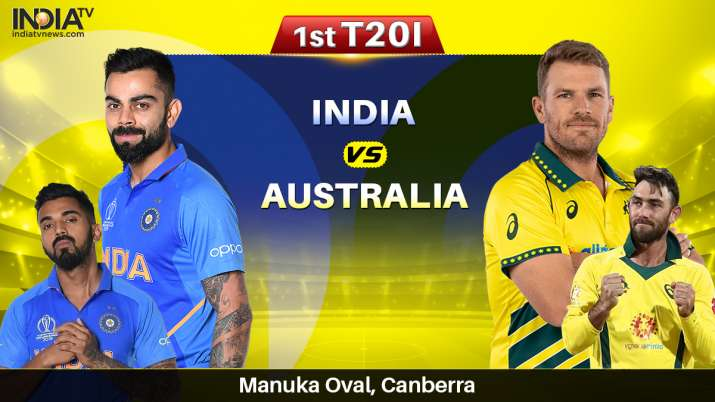 Live Streaming Cricket India vs Australia 1st T20I: How to Watch IND vs AUS Live Online on SonyLIV