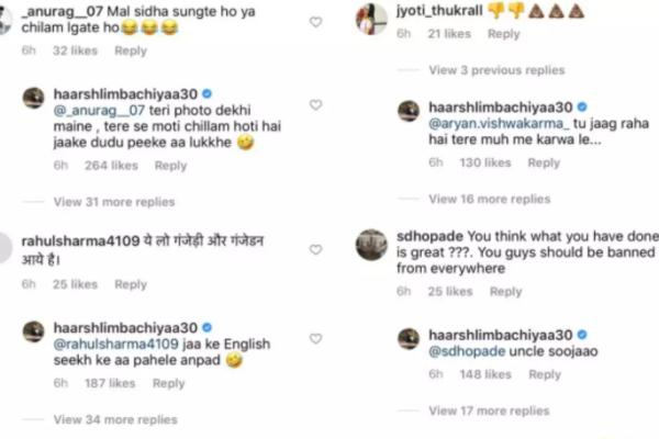 India Tv - Comments on Haarsh's post for Bharti