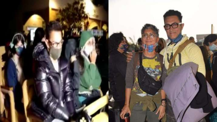 Aamir Khan celebrates wedding anniversary with Kiran Rao at Gir National Park   PICS