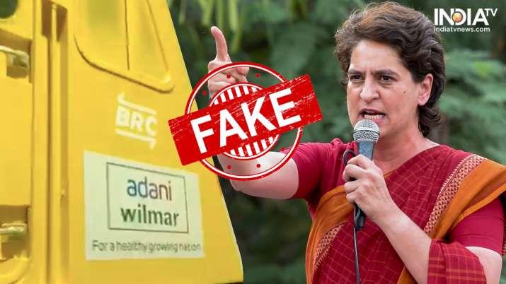 railways video, railways leasing adani, adani railways, priyanka gandhi vadra, pm modi, fake news,