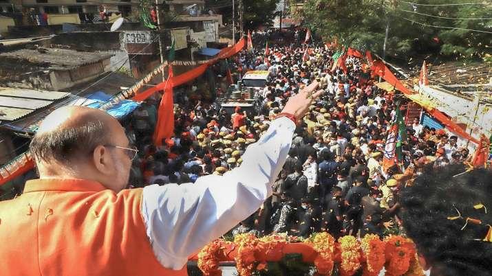 Amit Shah, GHMC election, GHMC polls
