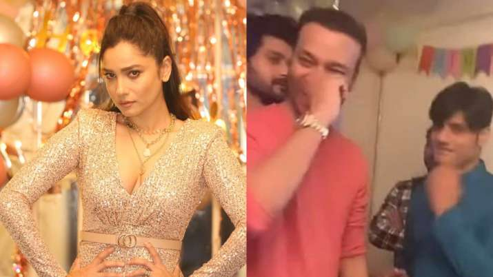 Ankita Lokhande trolled for celebrating birthday with Ssandip Singh; look how 'Pavitra Rishta' actre