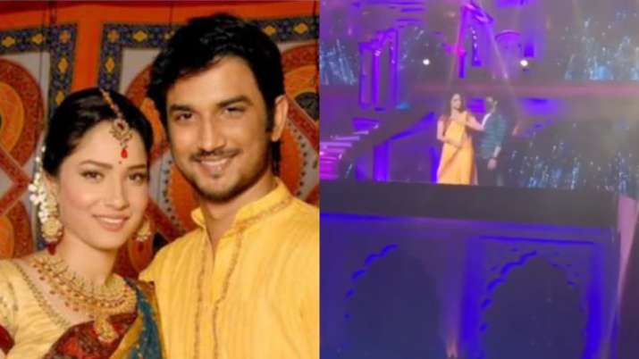 Ankita Lokhande dedicates special performance for late Sushant Singh Rajput at Zee Rishtey Awards. W