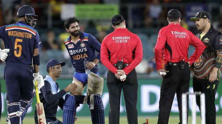 All-rounder Ravindra Jadeja was replaced by spinner