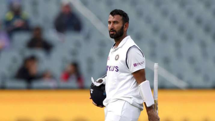Cheteshwar Pujara against Australia