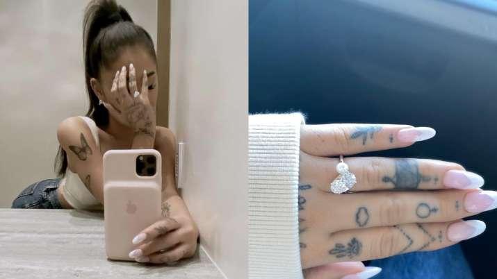 Ariana Grande announces engagement with boyfriend Dalton Gomez