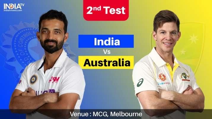 India Vs Australia 2nd Test Live Streaming Ind Vs Aus 2nd