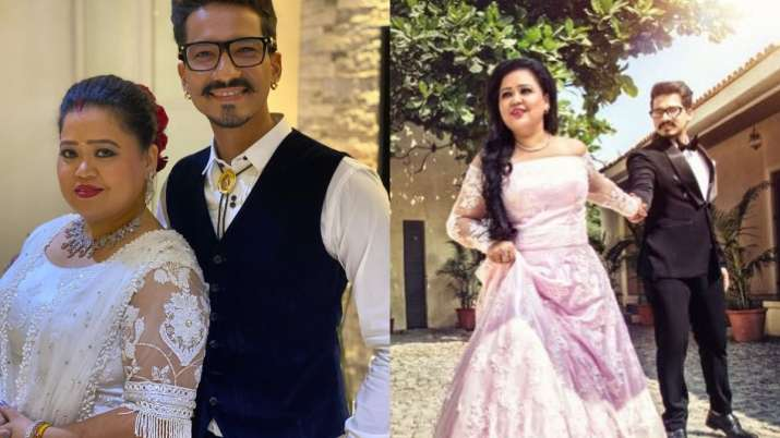 Bharti Singh, husband Haarsh Limbachiyaa share endearing posts for each other on third wedding anniv