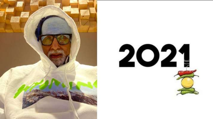 Nazar Na Lage! Amitabh Bachchan's 'nimbu mirchi' on 2021 post is exactly what's on our mind