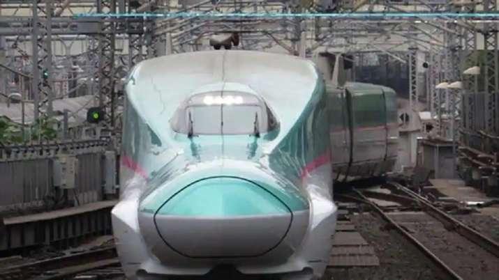 Mumbai-Ahmedabad Bullet Train: First glimpse of E5 Series