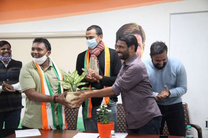 BV Srinivas appointed as President of Indian Youth Congress