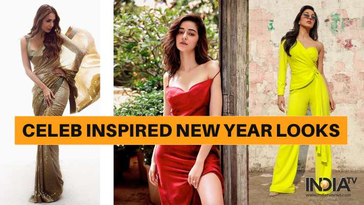 Celeb inspired new year's eve looks