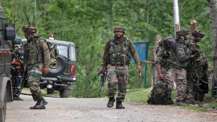 Jammu Kashmir encounter terrorist killed   India News – India TV