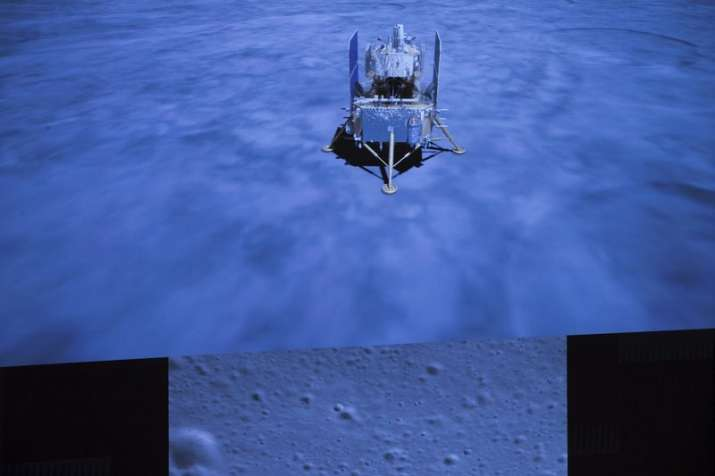 China's spacecraft takes off from moon with lunar samples
