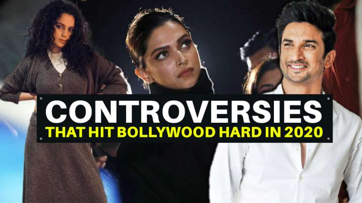 Sushant Singh Rajput's death to Deepika's JNU visit, controversies that hit Bollywood hard