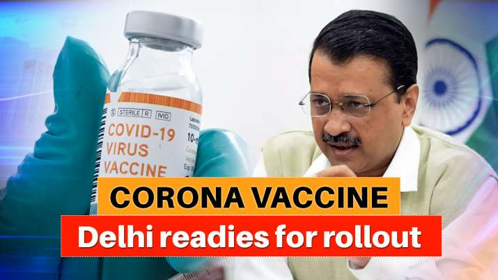 Around 51 lakh people including healthcare, frontline workers will get vaccine in first phase: Kejri