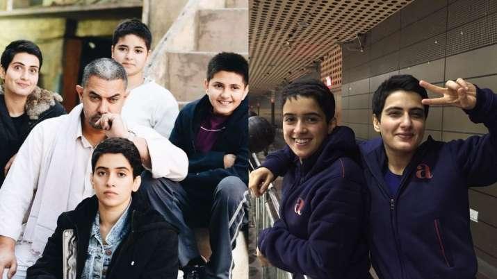Dangal turns 4: Sanya Malhotra recalls fond memories of shooting with Fatima Sana Shaikh, Aamir Khan