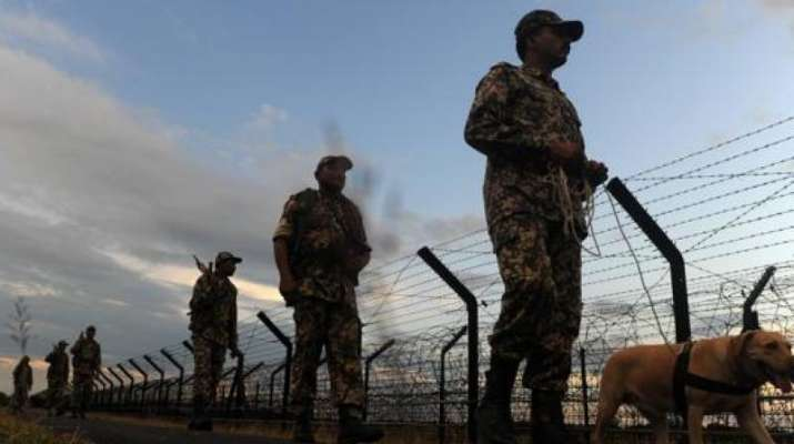 BSF officer martyred, ceasefire violation jammu kashmir poonch, poonch jammu kashmir, bsf officer,