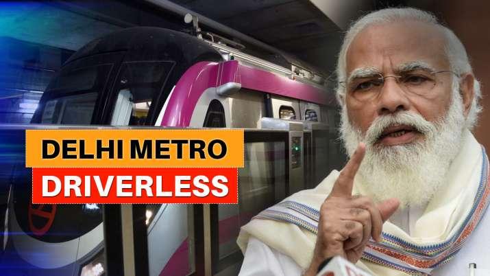 driverless delhi metro