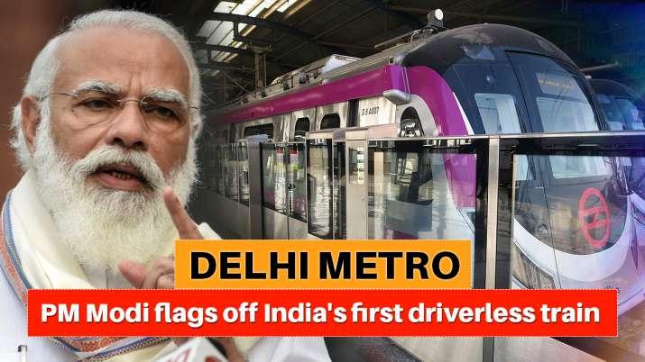 delhi metro driverless