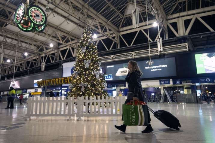 Millions of people in England have learned they must cancel their Christmas get-togethers and holida