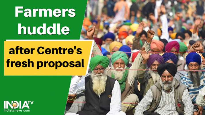 The government has told farmers that it will give in