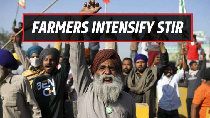 farmers protest, thali beating modi mann ki baat, 24 hour relay hunger strike, halting toll collecti