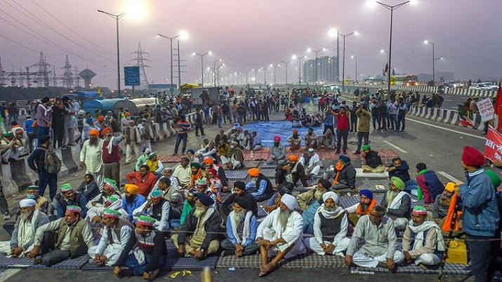 Image result for farmers protest ghazipur
