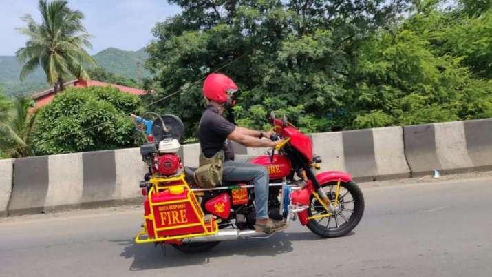 Mumbai Fire Brigade to get hi-tech 'fire bikes' for ops in