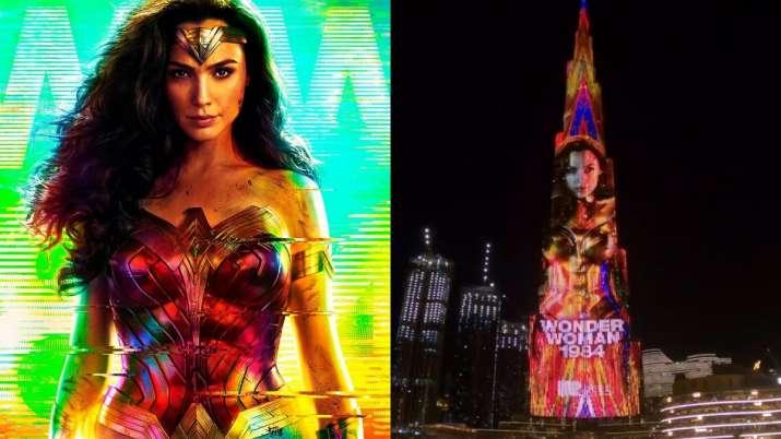 Gal Gadot's 'Wonder Woman 1984' teaser lights up Burj Khalifa