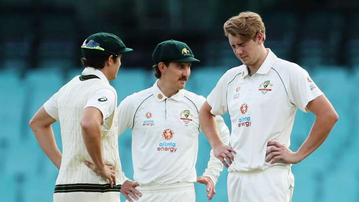 Australia A Vs India Cameron Green Substituted Out Of Warm Up Game With Mild Concussion Cricket News India Tv