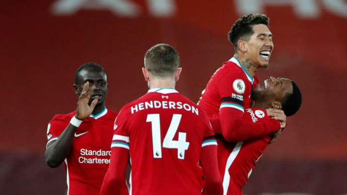 Premier League Liverpool Beat Tottenham To Go Top Of Table Football News India Tv