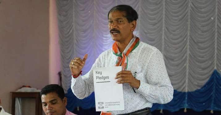 Goa Congress president Girish Chodankar