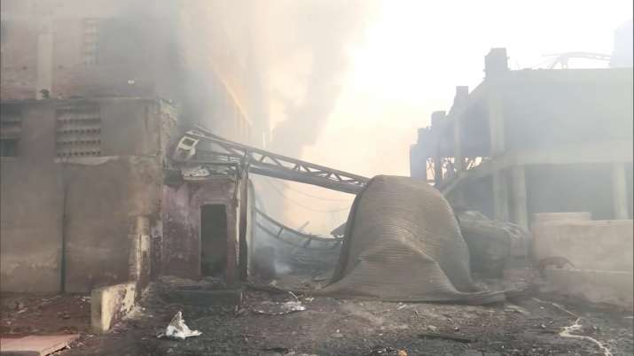 Gujarat: Massive fire breaks at chemical factory in