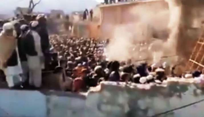 Mob vandalises, burns down Hindu temple in northwest Pakistan