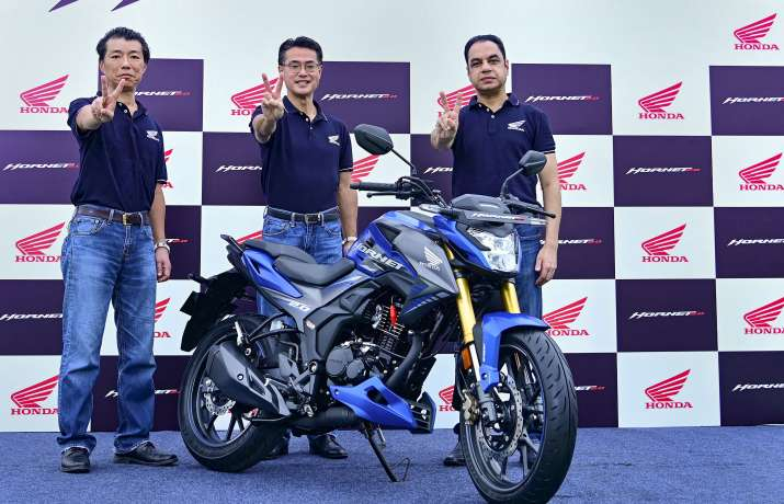 India Tv - Honda Hornet