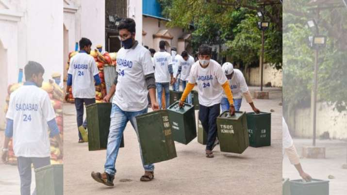 GHMC polls 2020: Voting underway in high-stakes Hyderabad local body elections