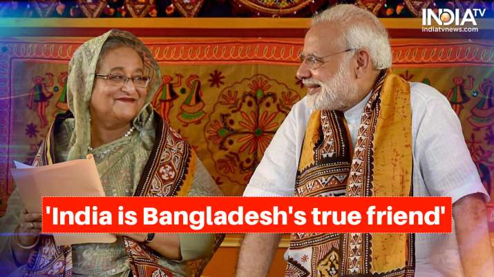 Bangladesh PM Sheikh Hasina and Prime Minister Narendra Modi