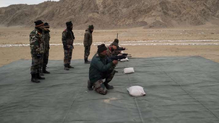 DRDO sub machine gun