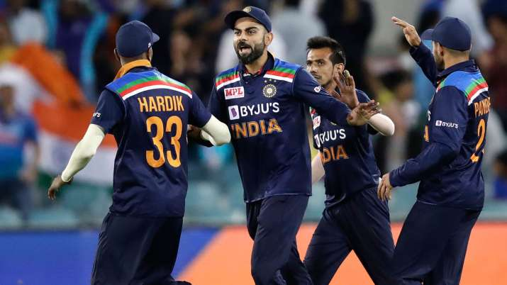 1st T20I: Rahul, Chahal star as India beat Australia by 11 runs to go 1-0 up