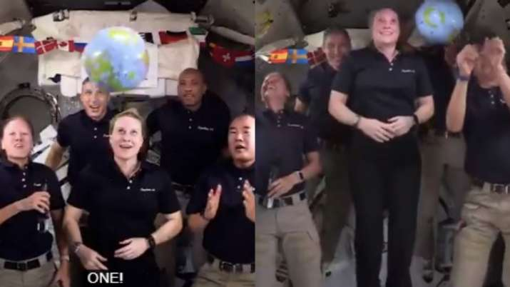 Never-seen-before version of Times Square's ball tradition in space surprise Netizens