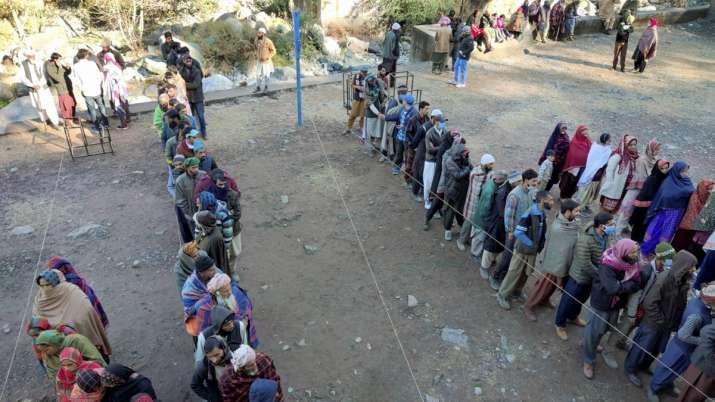 Jammu Kashmir, DDC elections, DDC election phase 3 voter turnout