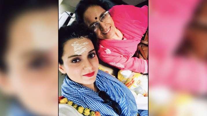 Kangana Ranaut shares throwback pic with mother