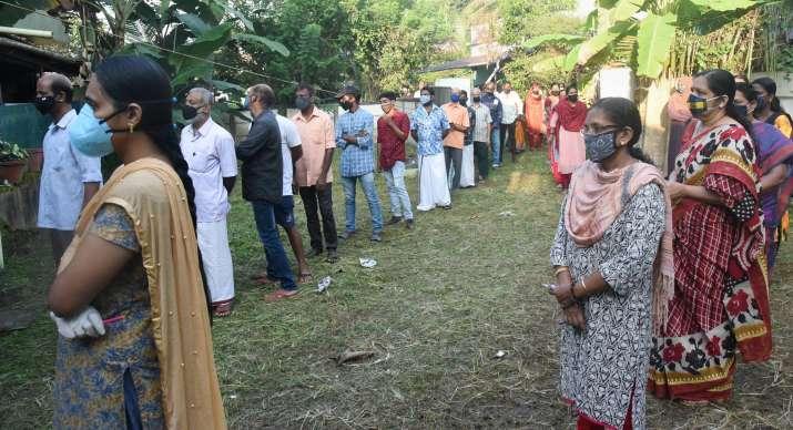Kerala local body polls: Last phase voting underway in Malappuram, Kozhikode, Kannur, Kasaragod