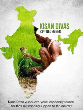 India Tv - Kisan Diwas 2020: Wishes, quotes, HD Images, WhatsApp and Facebook status to share on National Farme