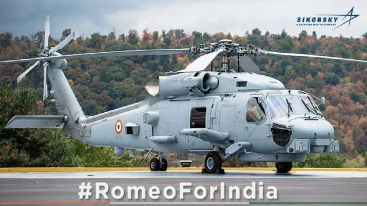 India Tv - Lockheed martin, Romeo Multi role helicopter, Indian navy