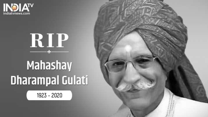 Dharampal Gulati death