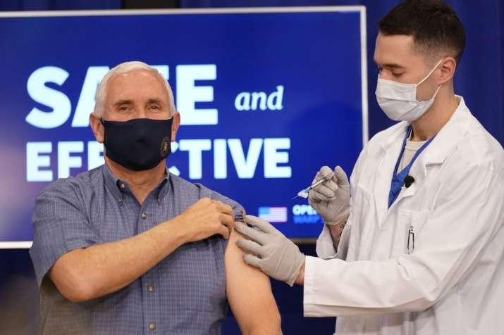 Pfizer coronavirus vaccine, vaccine, Mike Pence, United States